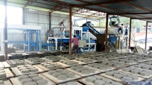 Artex Brick Plant, Lele